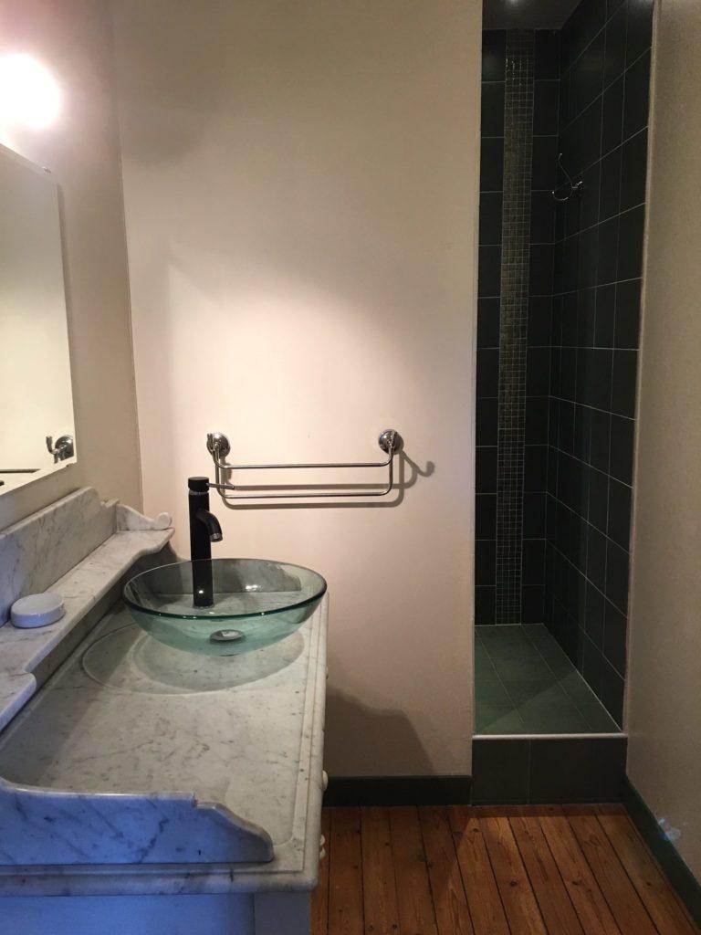 Piedouault's bathroom