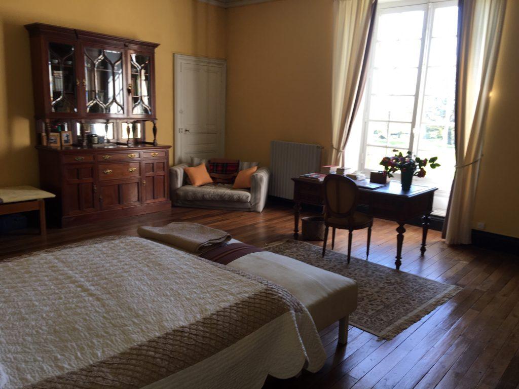 Piedouault's castle bedroom